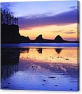 Sunset Bay Canvas Print