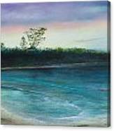Sunset Beach Canvas Print