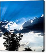 Sunset Beams Canvas Print