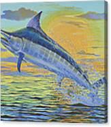 Sunset Blue Off0085 Canvas Print