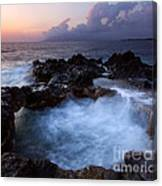 Sunset Churn Canvas Print