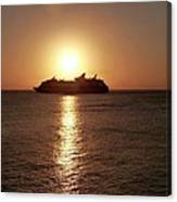 Sunset Cruise Canvas Print