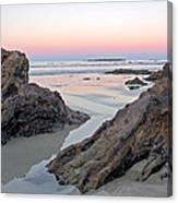 Sunset  Denhams Beach. Canvas Print