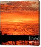 Sunset Detail  Canvas Print