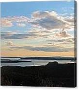 Sunset Dore Mountain Canvas Print