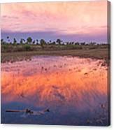 Everglades Afterglow Canvas Print