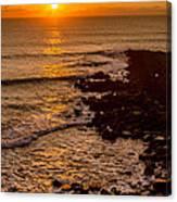 Sunset Far Away Canvas Print