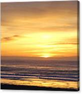 Sunset Flame Canvas Print
