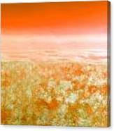 Sunset From Above Canvas Print