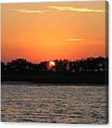 Sunset Glow Canvas Print