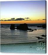 Sunset Gone Canvas Print