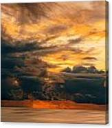 Sunset Grandeur Canvas Print