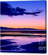 Sunset Great Salt Lake - Utah Canvas Print