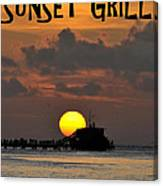 Sunset Grill Don Henley 1984 Canvas Print