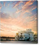 Sunset In Bari Canvas Print