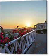 Sunset In Kos Island Canvas Print