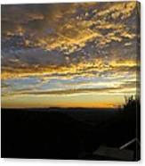 Sunset In Taos Canvas Print
