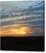 Sunset In The Distance Canvas Print