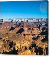 Sunset In The Grand Canyon Canvas Print