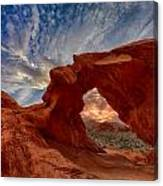 Sunset In The Valley Of Fire Canvas Print