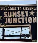 Sunset Junction Canvas Print