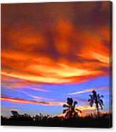 Sunset Key Largo Filtered Canvas Print