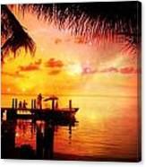 Sunset Key Largo Florida - 2 Canvas Print