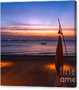 Sunset Lanta Island  Canvas Print