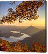Sunset Light Canvas Print