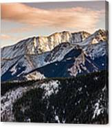 Sunset Mountains Canvas Print