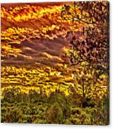 Sunset Navajo Tribal Park Canyon De Chelly Canvas Print