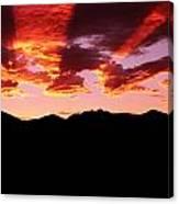 Bitterroot Sunset Canvas Print