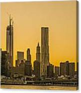 Sunset Ny Canvas Print