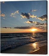 Sunset On Alys Beach Canvas Print