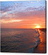 Sunset On Balboa Canvas Print