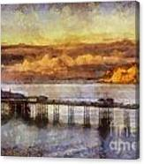 Sunset On Little Orme Canvas Print