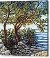 Sunset On Morada Bay Canvas Print
