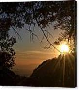 Sunset On San Jacinto Canvas Print