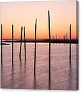 Sunset On The Bay I Canvas Print