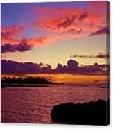 Big Island Sunset - Hawaii Canvas Print