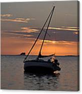 Sunset On The Gulf Canvas Print