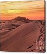 Sunset On The Ridge Canvas Print