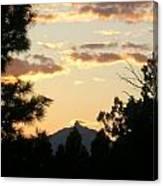 Sunset On Washington Canvas Print