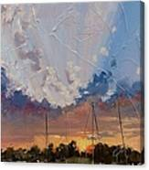 Sunset Over Bay Point Canvas Print