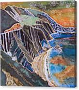 Sunset Over Big Sur Canvas Print