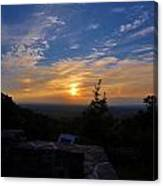 Sunset Over Boonsboro Md Canvas Print
