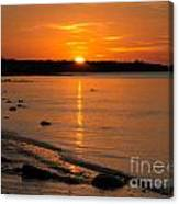 Sunset Over Brewster Flats Canvas Print