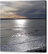 Sunset Over Calypso Beach Canvas Print
