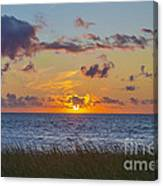 Sunset Over Cape Cod Bay Canvas Print