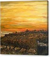 Sunset Over Jerusalem Canvas Print